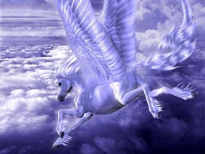 اسب سفید بالدار و ابراهیم