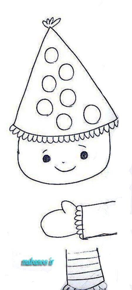 آموزش نقاشی کودکان و خردسالان در منزل جلسه دهم