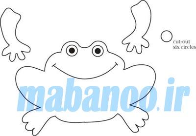 الگوی حیوانات دریایی نمدی الگو حیوانات انگشتی - مابانو