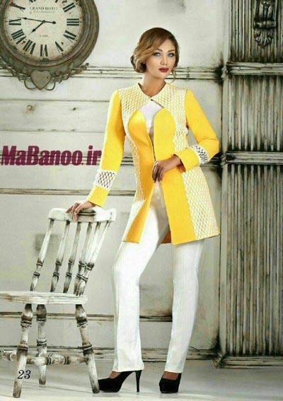 مدل مانتو می آموزش دوخت مانتو کتی - مابانو