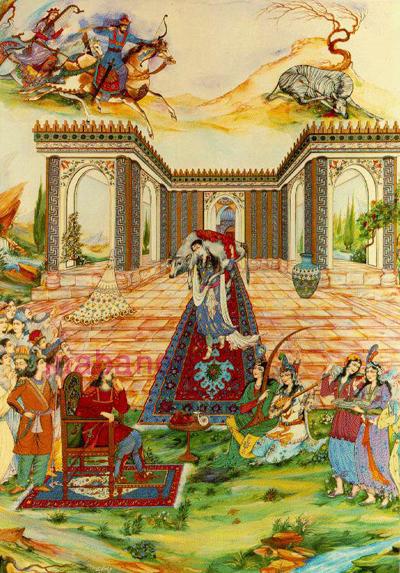 پادشاهی بهرام گور